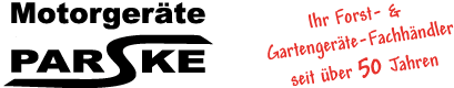 Motorgeräte Parske Logo