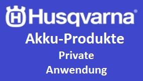 Husqvarna Akku Private Anwendung