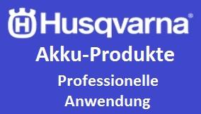 Husqvarna Akku Profi Anwendung