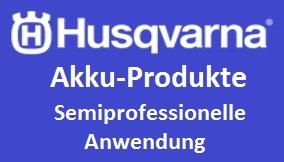Husqvarna Akku Semi Profi Anwendung