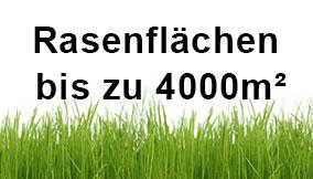Rasenflächen (bis 4000qm)