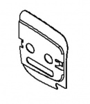 Original Echo Führungsblech vom Kettenbremsdeckel