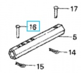 Original Honda Stift Radseitig