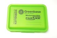 Juwel Kettenbox - sichere Aufbewahrung für Sägeketten Kettenbox grün