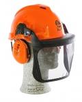 Peltor Forsthelm G22, mit Gehörschutz H510, Gesichtsschutz  V1B, orange, Aktion