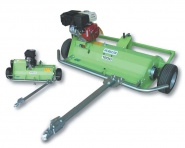 Peruzzo Motofox 1200 - Gezogener Schlegelmäher / Vertikutierer mit eigenem Antrieb