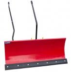 Komfort Schneeschild mit Gummileiste für Rasentraktoren, Aktion 118cm