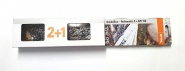 """Original Stihl Kombibox Schiene, Kette 2+1, 325""""-1.6-62, 37 cm"""