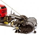 Tielbürger tk 520 Anbau Kehrmaschine, mit Kehrgutbehälter