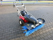 Tielbürger Kehrmaschine TK48 professional mit HONDA-Motor, Winter