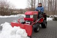 Westwood Winterdienst-Traktor mit Allradantrieb T-216KAWA-4WD