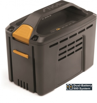 Stiga 48 V Volt Dual-Battery 500 System SBT 550 AE Akku-Batterie 5,0 Ah