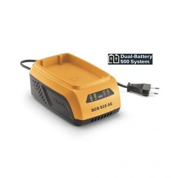 Stiga 48 V Volt Dual-Battery 500 System  Ladegerät SCG 515 AE