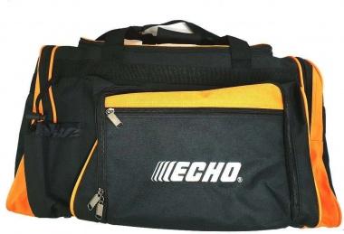 Echo Materialtasche schwarz/orange