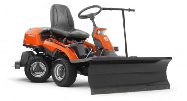 Husqvarna Rider R 316 TXs AWD Winterausrüstung mit Schneeräumschild