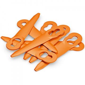 Original STIHL Kunststoffmesser für PolyCut 2-2 --  8 Kunststoffmesser