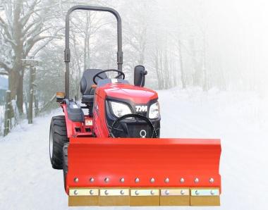 tym ts23 winterdienst traktor mit schneeschild kommunaltraktoren kleintraktoren. Black Bedroom Furniture Sets. Home Design Ideas