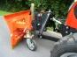 Tym T273 / T293 HST mit Kabine Schneeschild und Streuer