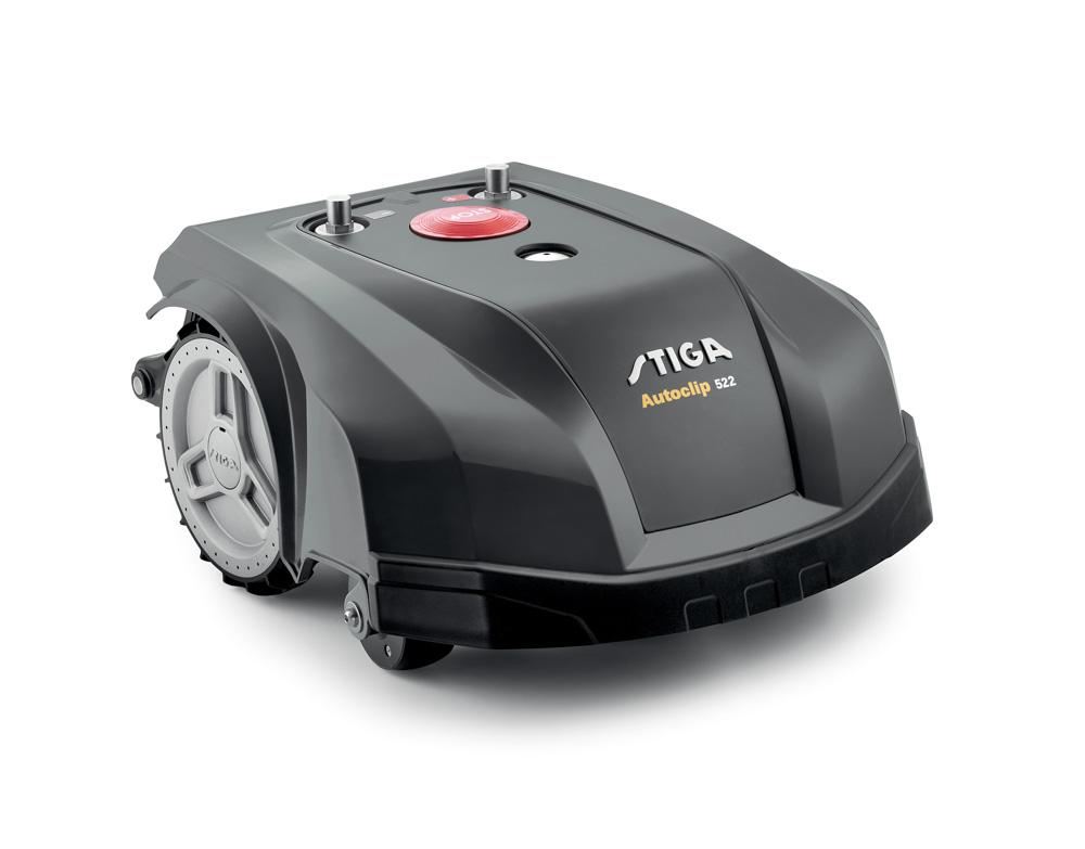 stiga rasenroboter autoclip 530 sg neu 2018 rasenroboter automower robomow m hroboter. Black Bedroom Furniture Sets. Home Design Ideas