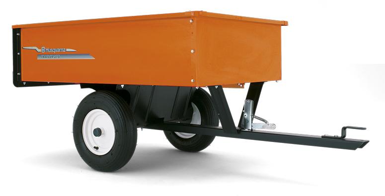 husqvarna anh nger 275 f r rasentraktor und rider. Black Bedroom Furniture Sets. Home Design Ideas