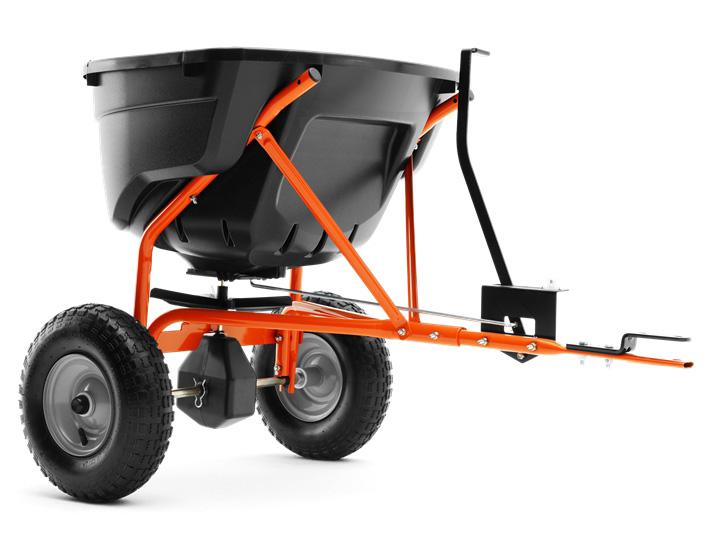 husqvarna streuwagen 75 f r rasentraktor und rider g nstig online kaufen. Black Bedroom Furniture Sets. Home Design Ideas