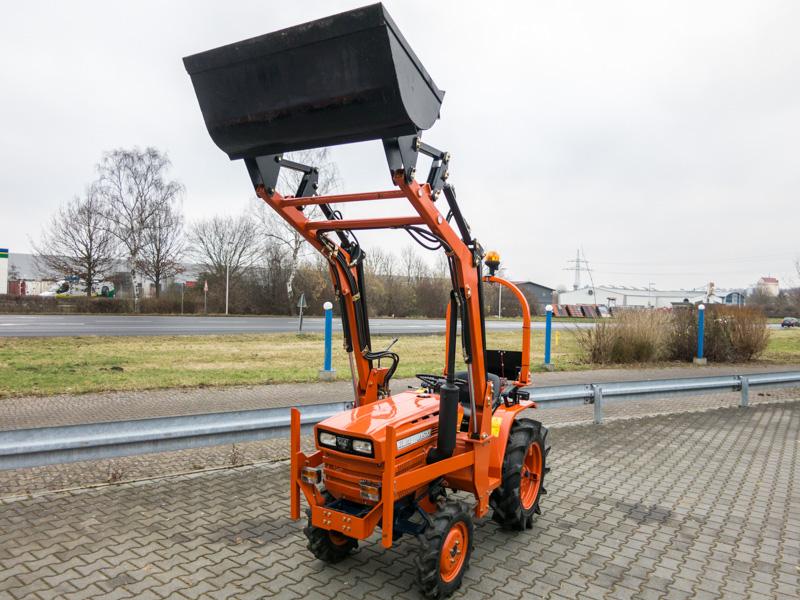 Kubota traktor gebraucht mit frontlader b kommunaltraktoren