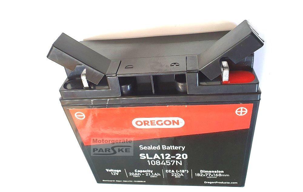 Gel-Batterie 12V 20Ah passend Iseki CM7014H Pro Rasentraktor