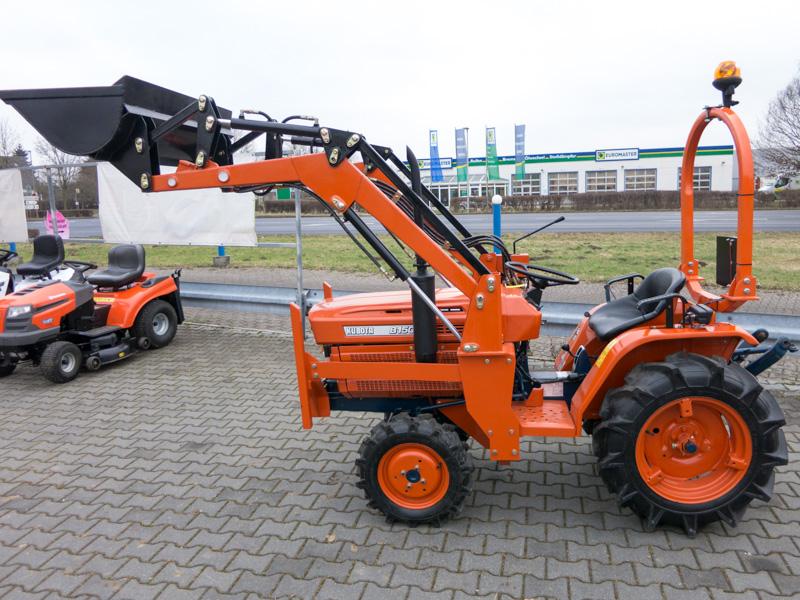 Kubota traktor gebraucht mit frontlader b