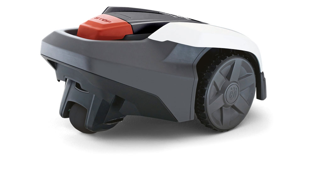 husqvarna automower 308 m hroboter aussteller wei grau rasenroboter f r kleinere g rten bis. Black Bedroom Furniture Sets. Home Design Ideas