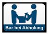 Zahlung Bar bei Abholung